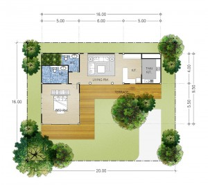 Khao Yai Villa A 1 Bedroom 2 Bathrooms
